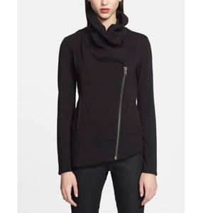 Helmet Lang Villous shawl zip up jacket P